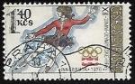 Stamps Czechoslovakia -   Juegos Olímpicos   Patinaje Artístico