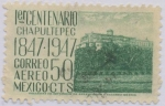 Sellos del Mundo : America : México : 1er. Centenario de la Batalla de Chapultepec