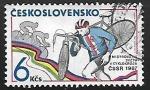 Sellos de Europa - Checoslovaquia -  Campeonato del mundo de ciclocros