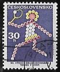 Stamps Czechoslovakia -  Tenis