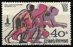 Stamps Czechoslovakia -  Juegos Olímpicos 1980