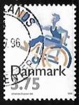 Sellos de Europa - Dinamarca -  Baloncesto | Discapacitados