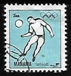 Sellos de Asia - Bahrein -  Olimpiadas