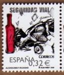 Stamps Spain -  COL-SEGURIDAD VIAL: ALCOHOLEMIA Y VELOCIDAD