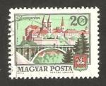Stamps Hungary -  2312 - Vista de la ciudad de Veszprem