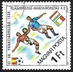 Stamps Hungary -  Football
