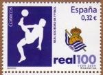 Stamps Spain -  COL-REAL SOCIEDAD: 1909-2009