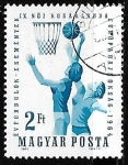 Stamps Hungary -  http://colnect.com/es/stamps/list/country/6955-Hungr%C3%ADa/theme/166-Baloncesto/year/1964/face_valu