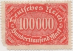 Stamps Germany -  Y & T Nº 192