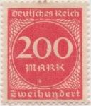 Sellos de Europa - Alemania -  Y & T Nº 244