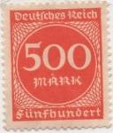Stamps Germany -  Y & T Nº 247
