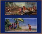 Sellos de Europa - España -  COL-HB TAPICES: HB DE JUEGO DE PELOTA A PALA Y JUEGO DE BOLOS