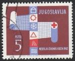 Sellos de Europa - Yugoslavia -  50 - Semana de la Cruz Roja