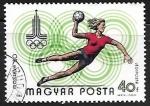 Sellos de Europa - Hungría -  Juegos olimpicos - balon mano