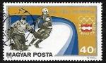 Sellos de Europa - Hungría -  Juegos olimpicos de invierno - Hockey sobre Hielo