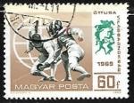 Stamps Hungary -   Esgrima