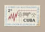 Sellos del Mundo : America : Cuba : Conferencia de Paises Sub-industrializados - Estabilización precios de materias primas