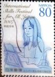 Stamps Japan -  Scott#3006b Intercambio 1,00 usd 80 y. 2007