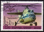 Stamps Russia -  COL-HELICOPTERO BEPTONET MN-6
