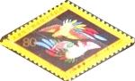 Stamps Japan -  Scott#2721 Intercambio 0,40 usd 80 y. 1999