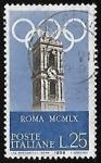 Sellos de Europa - Italia -  Juegos olimpicos
