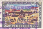 Sellos del Mundo : America : Venezuela : Cuatricentenario de la ciudad de Caracas