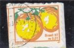 Stamps Brazil -  Naranjas