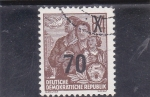Stamps : Europe : Germany :  refugiados