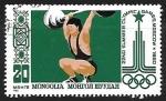 Stamps : Asia : Mongolia :  Halterofilia