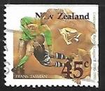 Sellos de Oceania - Nueva Zelanda -  Rugby