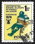 Sellos de Europa - Polonia -      Hockey sobre Hielo
