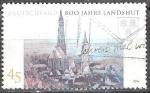Sellos del Mundo : Europa : Alemania : 800 años de Landshut,