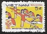 Sellos del Mundo : Asia : Vietnam : Gimnasia en grupo