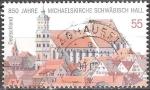 Sellos de Europa - Alemania -   850 años Michael Iglesia Schwäbisch Hall.