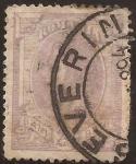 Stamps : Europe : Romania :  Carlos I   1893  25 bani