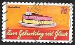 Sellos de Europa - Alemania -  3040 - Felicidades
