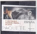 Stamps Spain -  V Centenario de Santa teresa de Jesùs (29)