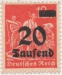 Stamps Germany -  Y & T Nº 256