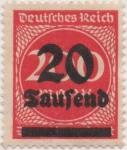 Sellos de Europa - Alemania -  Y & T Nº 258