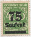 Sellos de Europa - Alemania -  Y & T Nº 263