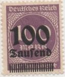 Sellos de Europa - Alemania -  Y & T Nº 265