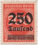Stamps Germany -  Y & T Nº 272