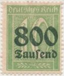 Sellos de Europa - Alemania -  Y & T Nº 274