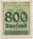 Stamps Germany -  Y & T Nº 280
