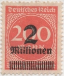 Stamps Germany -  Y & T Nº 281