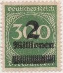 Stamps Germany -  Y & T Nº 282