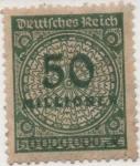 Sellos de Europa - Alemania -  Y & T Nº 302 [1]