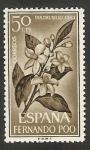 Sellos de Africa - Guinea Ecuatorial -  Fernando Poo - 221 - Flor de azahar