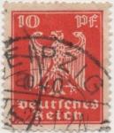 Stamps Germany -  Y & T Nº 350