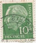 Sellos de Europa - Alemania -  Scott Nº 708 [1]